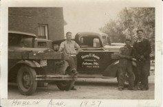 1937 Harry E Nason Plumbing & Heating Truck