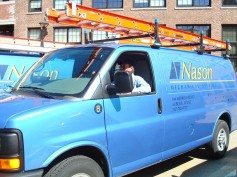 Nason Mechanical Systems HVAC Tech