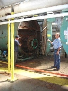 Bates Mill Boiler Plant
